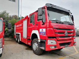 How to Operation Fire Fighting Truck ?