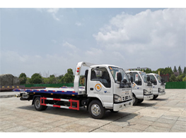 3 units of ISUZU Japanese Engine 600P Flatbed Wrecker Truck Ship to Philippines