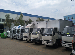 Production Line of Refrigerator Truck