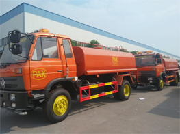 Chengli Special Auotmobile Co,.Ltd 2 unit Dongfeng water Sprinkler truck 10000Liters with Cummins Engine We ship to our customer in PAX cleaning service company in Timor-leste