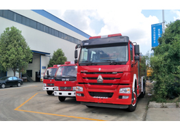 Production Line of Fire Fighting Truck