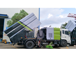 Production Line of  Road Sweeper/Cleaning Truck