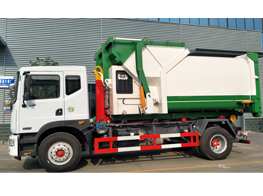 Production Line of Hook on Garbage truck