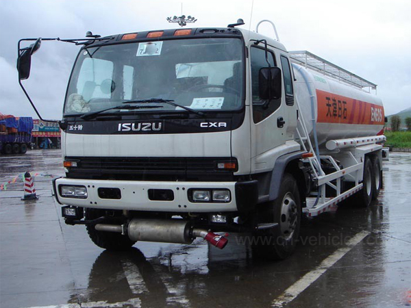Isuzu 6X4 20000liters Carbon Steel Stainless Steel Aluminum Alloy Oil Tank Truck Fuel Transport Oil Delivery