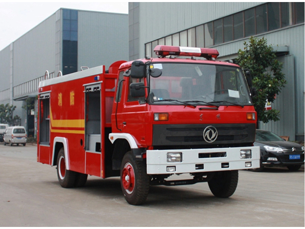 Dong Feng DFAC 6 Wheels Fire Truck 6 Tons Water Tank Fire Engine