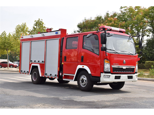 Sinotruck howo 800-1000 Gallon 3000 Liter Water Tanker Fire Truck For Sale