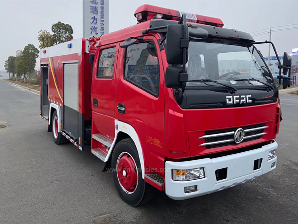 Dongfeng DFAC Double Cab 5000 Liters 5 cbm Fire Fighting Truck For Sales