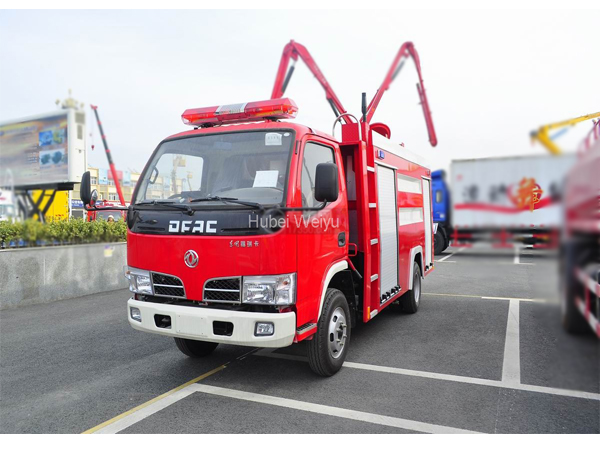DFAC Dongfeng 8000L Multipurpose Fire Fighting Vehicles for Sales
