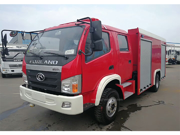 Forland Double Cab LHD or RHD 140hp 16000 Liters Foam Fire Flighting Truck For Sales