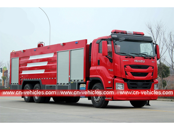 Best ISUZU GIGA 12CBM water foam fire truck export to Philippines