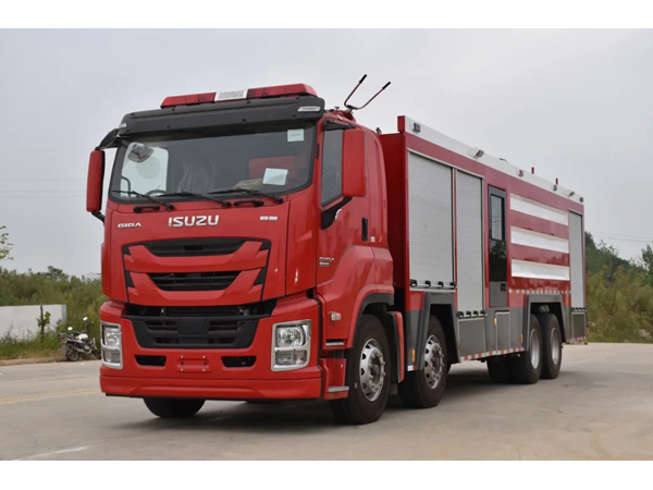 ISUZU 12000liters water 3400liters Foam 2000liters Powder Water Foam Powder Combined Fire Fighting Truck