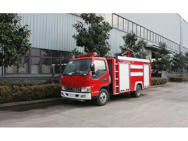 3ton Euro 4 JAC Water Tank Firefighting Truck
