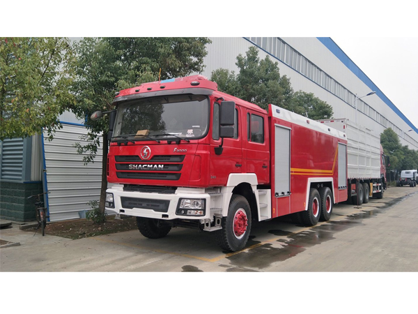 Shacman 10 Tons Water  Foam Fire Fighting Truck for Sales