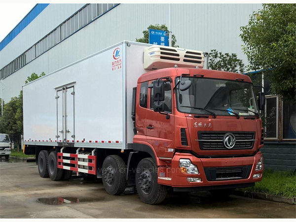 Dongfeng DFAC 30T Logistics Refrigerated Trucks For Sales
