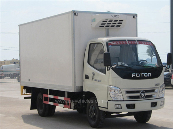 Foton 10 Ton Frozen Food Refrigerated Trucks Price