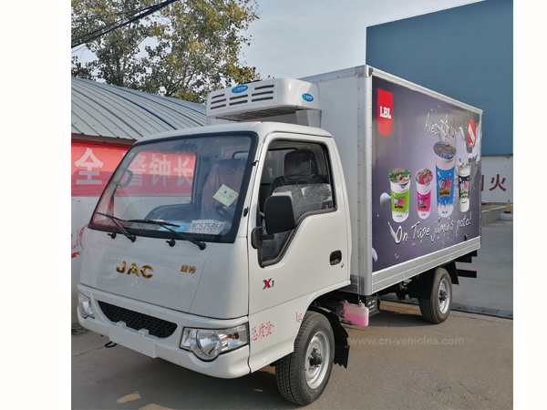 JAC 3 Ton 5 Ton 10 Ton Freezer Truck Refrigerator Truck Refrigerated Truck for Transport Ice Cream