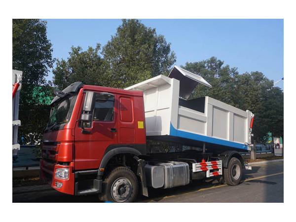 HOWO 250hp 15 Ton to 20 Ton Garbage Tipper Truck