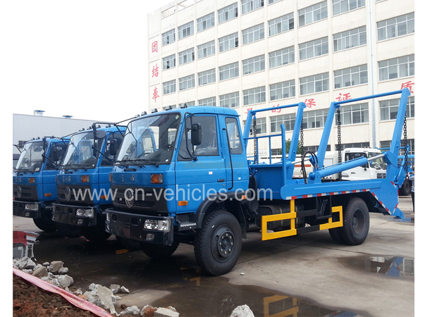 DFAC Dongfeng 10 Ton Skip Loader Vehicle For Sales