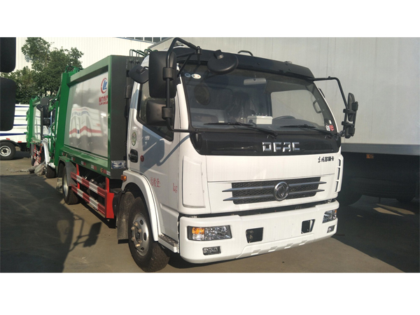 Dongfeng 4 Cubic Meter to 18 Cubic Meter Waste Compactor Truck Garbage Truck for Sale
