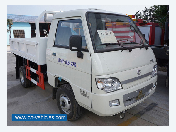 FOTON Forland 6 Wheeler 3000kg Small Capacity Dumper Truck For Sales