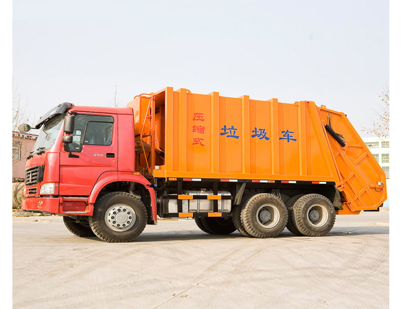 12cbm HOWO Refuse Compactor Truck for Sale