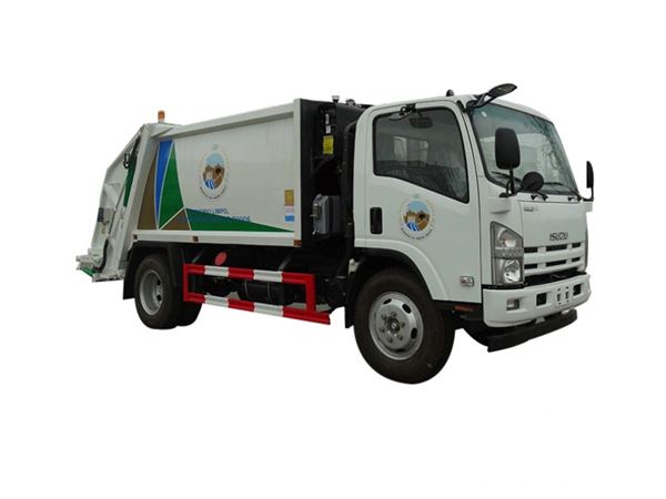 ISUZU 700P 190hp 6CBM Compactor Refuse Rubbish Waste Truck