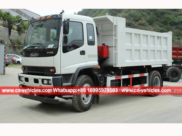 ISUZU FVR  20 Ton 240HP Dump Truck For Sales