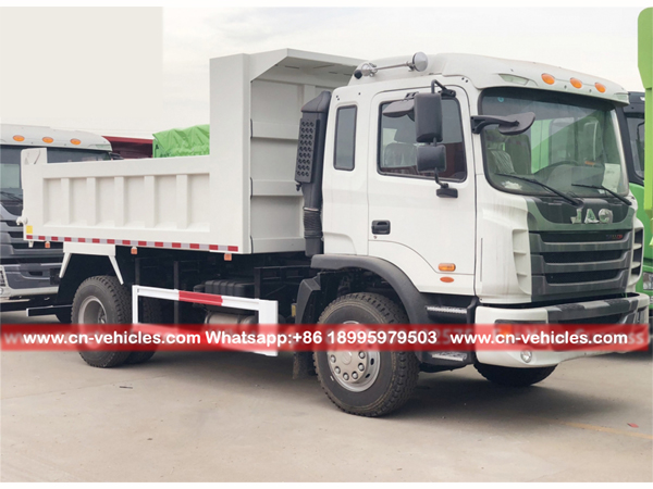 JAC Left Hand Driver 4X2 Dump Trucks Tipper Trucks for Kazakhstan
