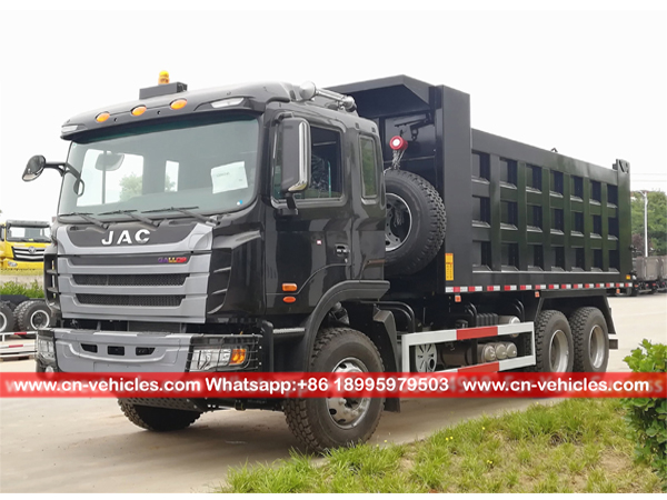 JAC 40 Tons 310hp Sand Tipper Truck For Sales