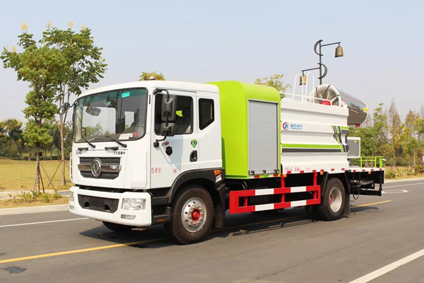 Dongfeng dfac 10000 liters capacity 80m Cannon City Disinfection vehicles with Cummis Engine