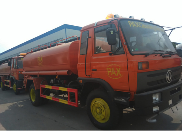Chengli Speical Automobile 2 unit Dongfeng water Sprinkler truck 10000Liters with Cummins Engine We ship to our customer in PAX cleaning service company in Timor leste