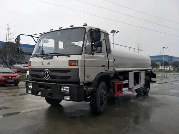 Dongfeng 153 16000 liters 16 ton RHD 190hp Cummins Engine Drinking Water Transport Truck With Food grade Stainless steel 304-2B Tanker and Whole Tube