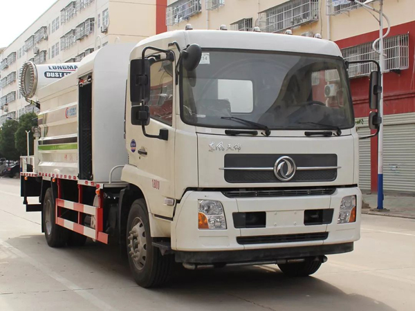 Dongfeng dfac 10000liters 10cbm capacity 50m Cannon City Disinfectant Truck with Cummis Engine