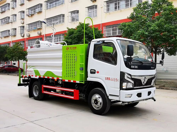 Dongfeng dfac 4500liters capacity 30m Cannon City disinfectants vehicles with Weichai  Engine