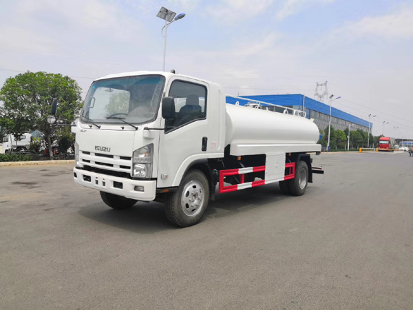 ISUZU Elf LHD 8 Cubic Meters 8m3 8ton 8000L Drink Water Transport Truck With Liquid Lever